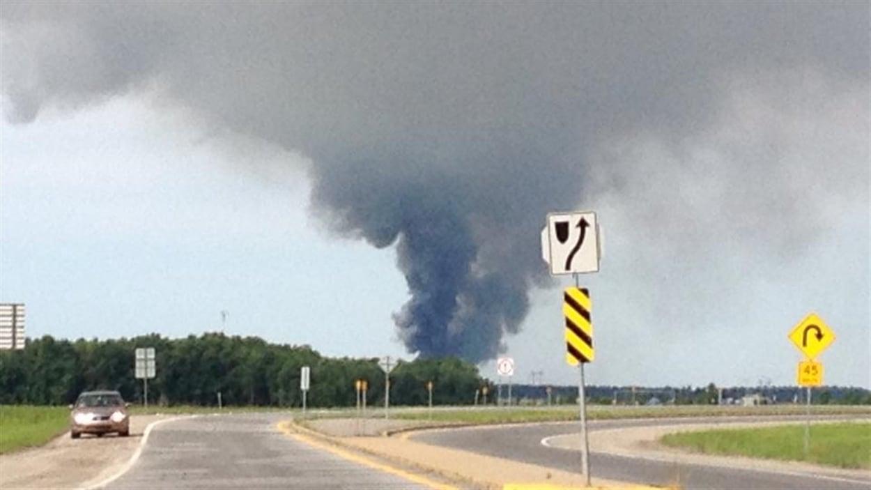 La puissante explosion a été entendue à des kilomètres à la ronde.