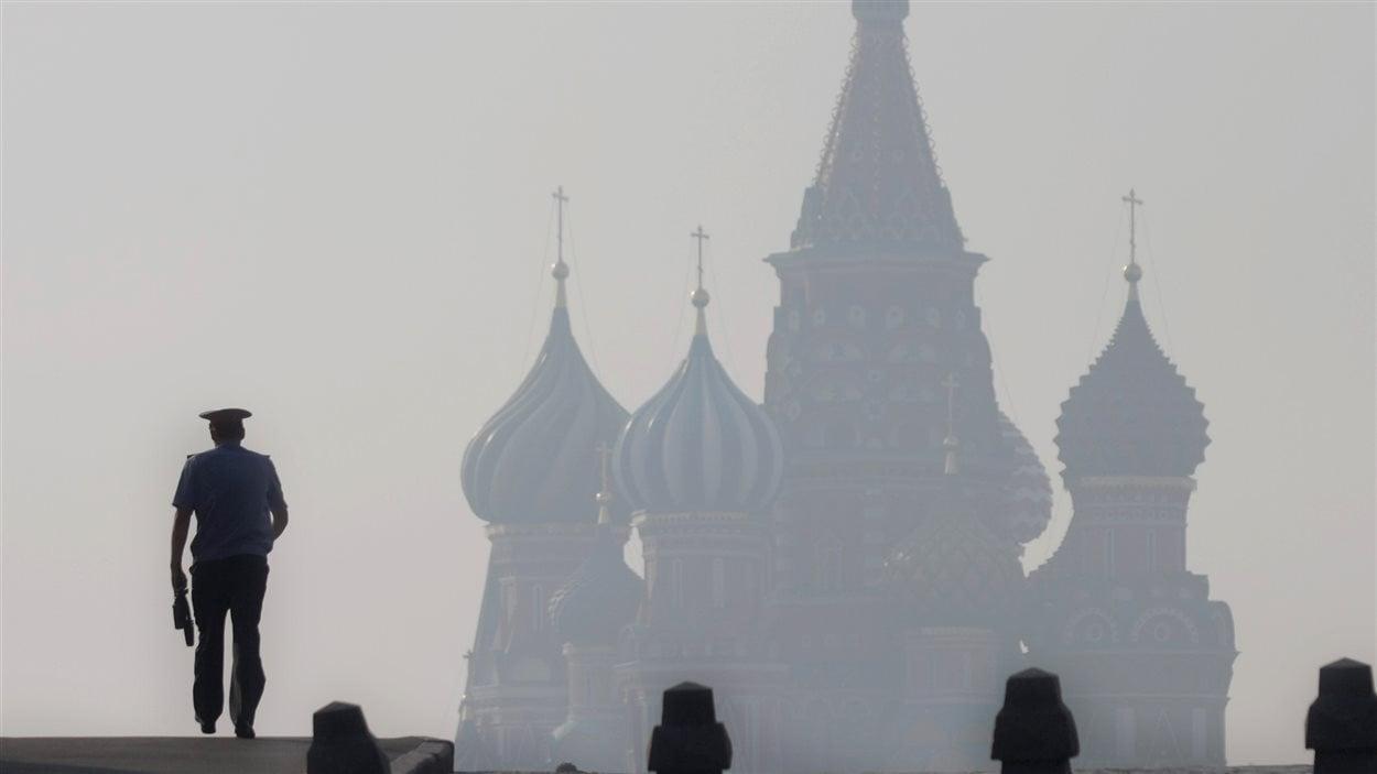 Policier de Moscou