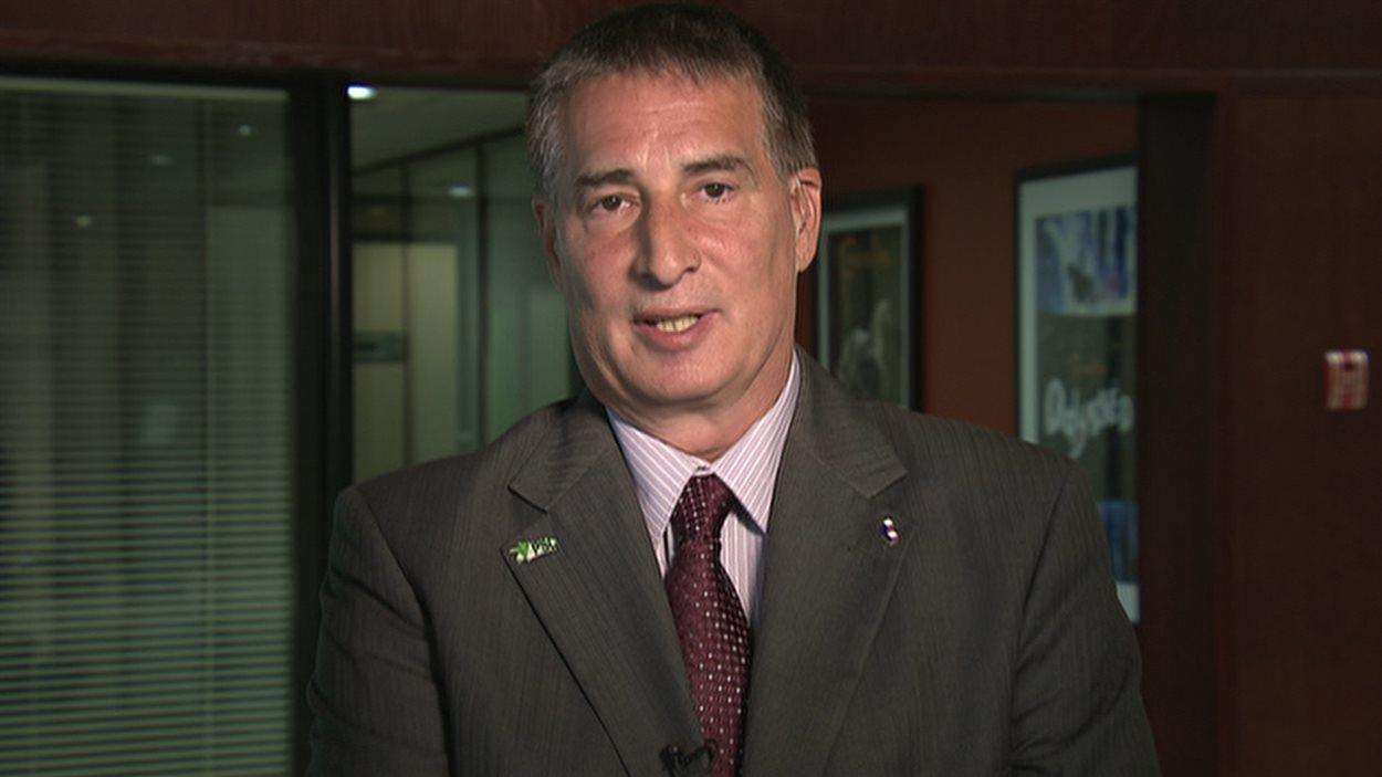 Robert Bordeleau, chef du Parti au service du citoyen