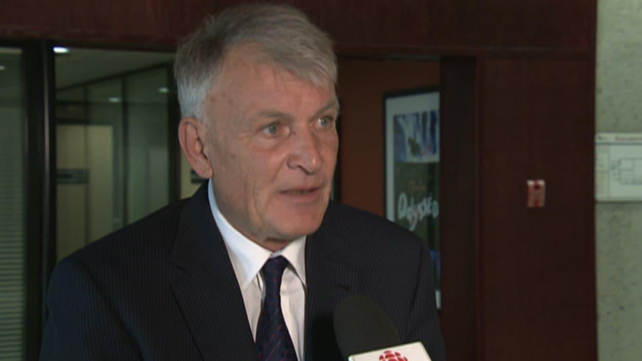 Jean-Claude Gobé, chef d'Action Laval