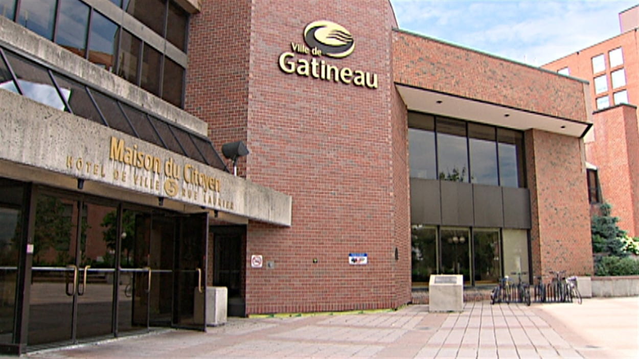 La Maison du citoyen de Gatineau (hôtel de ville).