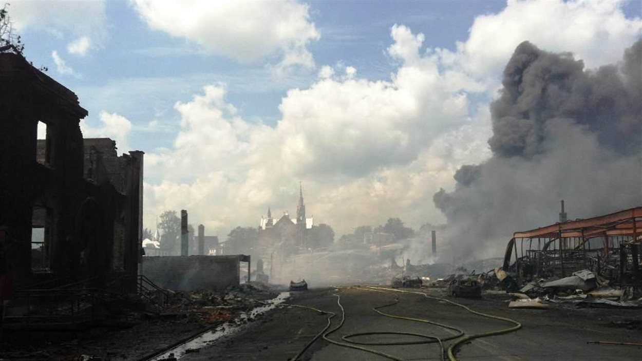 Explosion à Lac-Mégantic