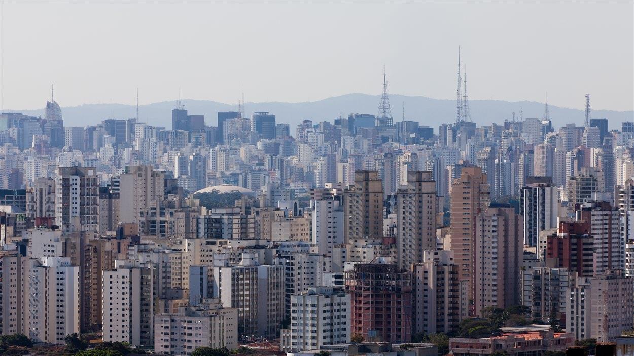 Sao Paulo, au Brésil