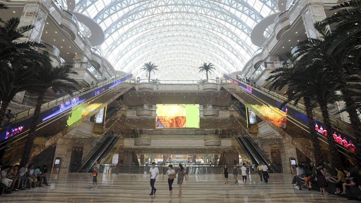 Le New Century Global Center, d'une superficie de 19 millions de pieds carrés, à Chengdu