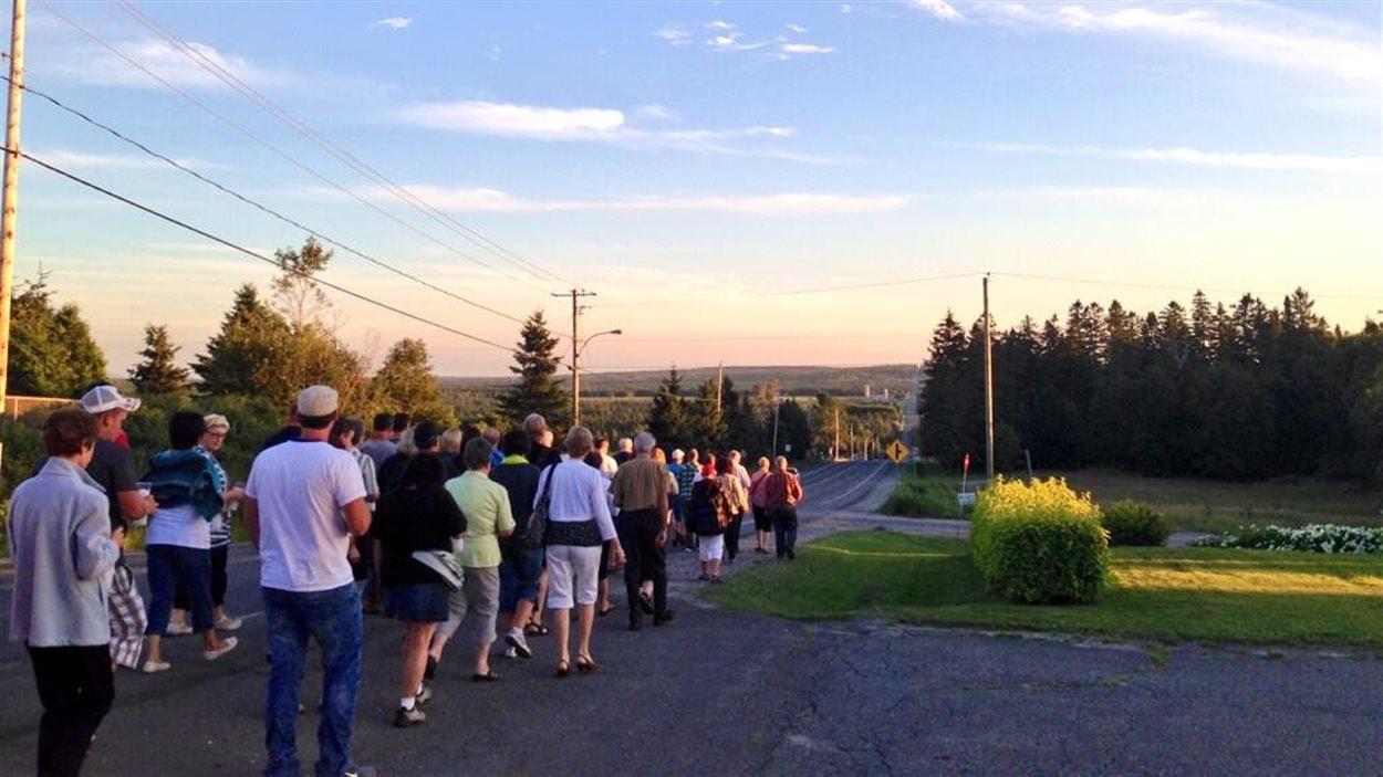 Veillée à la chandelle à Stornoway, au Québec