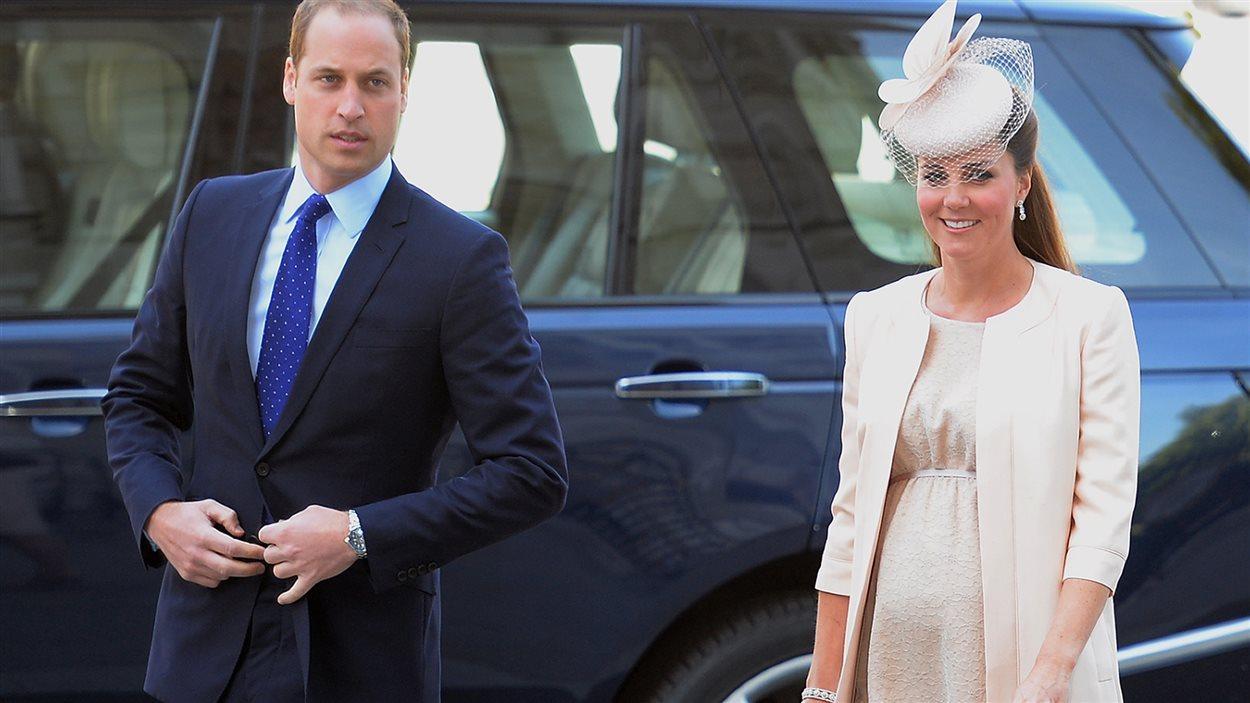 Le couple royal attend la naissance de son premier enfant, prévu pour la mi-juillet.