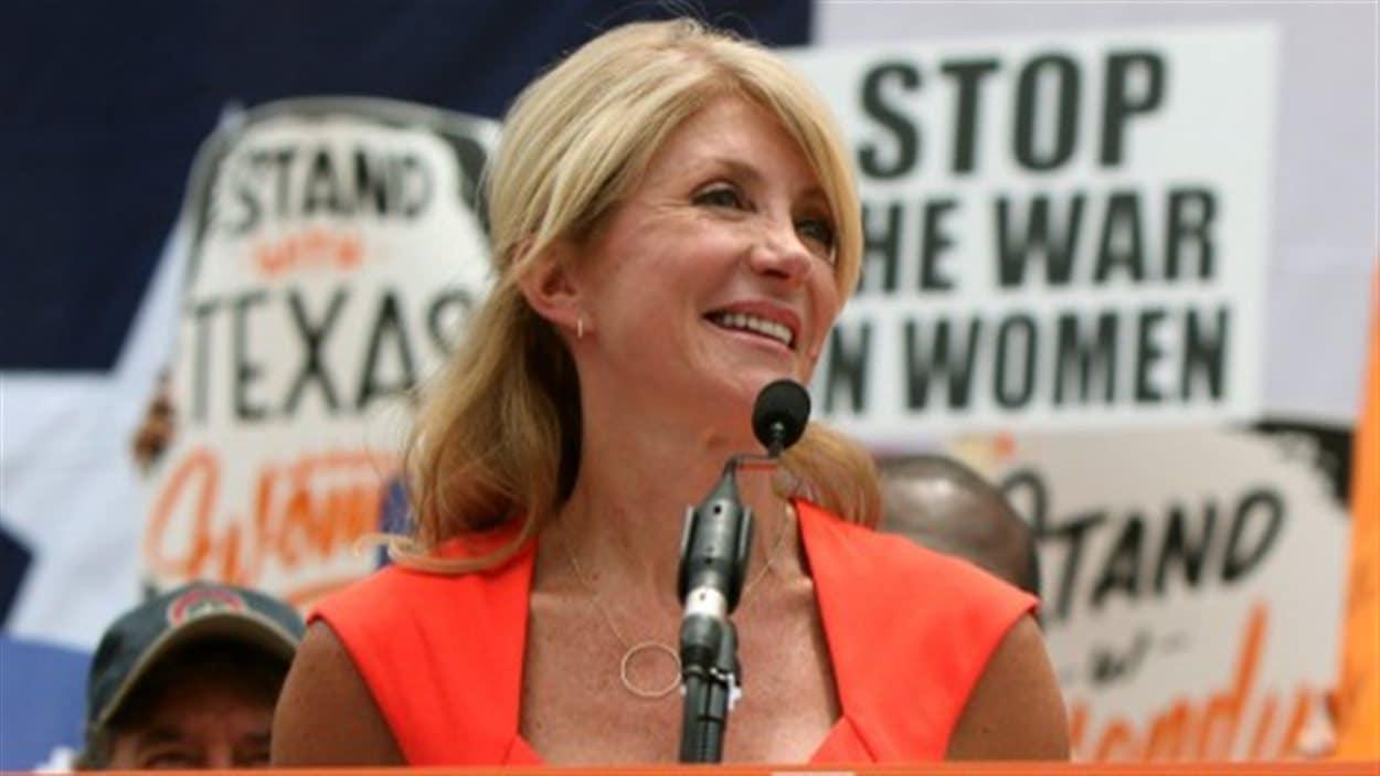 La sénatrice Wendy Davis