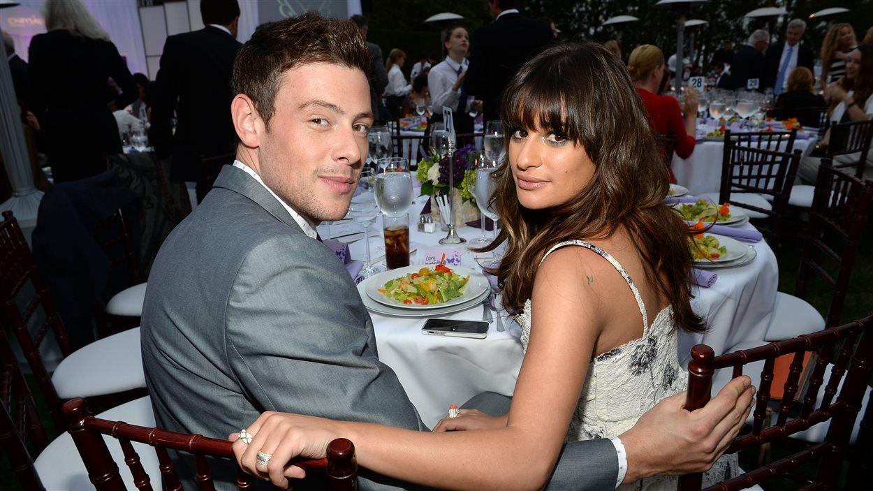 Cory Monteith et sa petite amie, Lea Michele