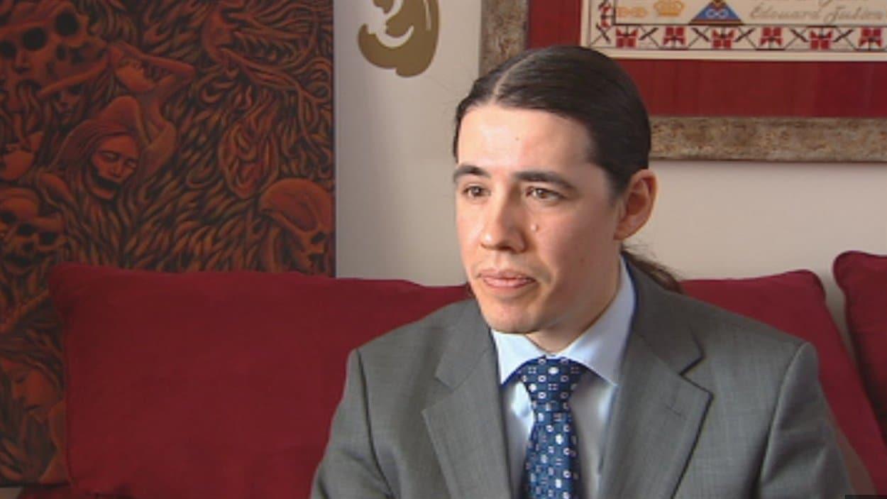 Robert-Falcon Ouelette, directeur du programme Aboriginal Focus à l'Université du Manitoba