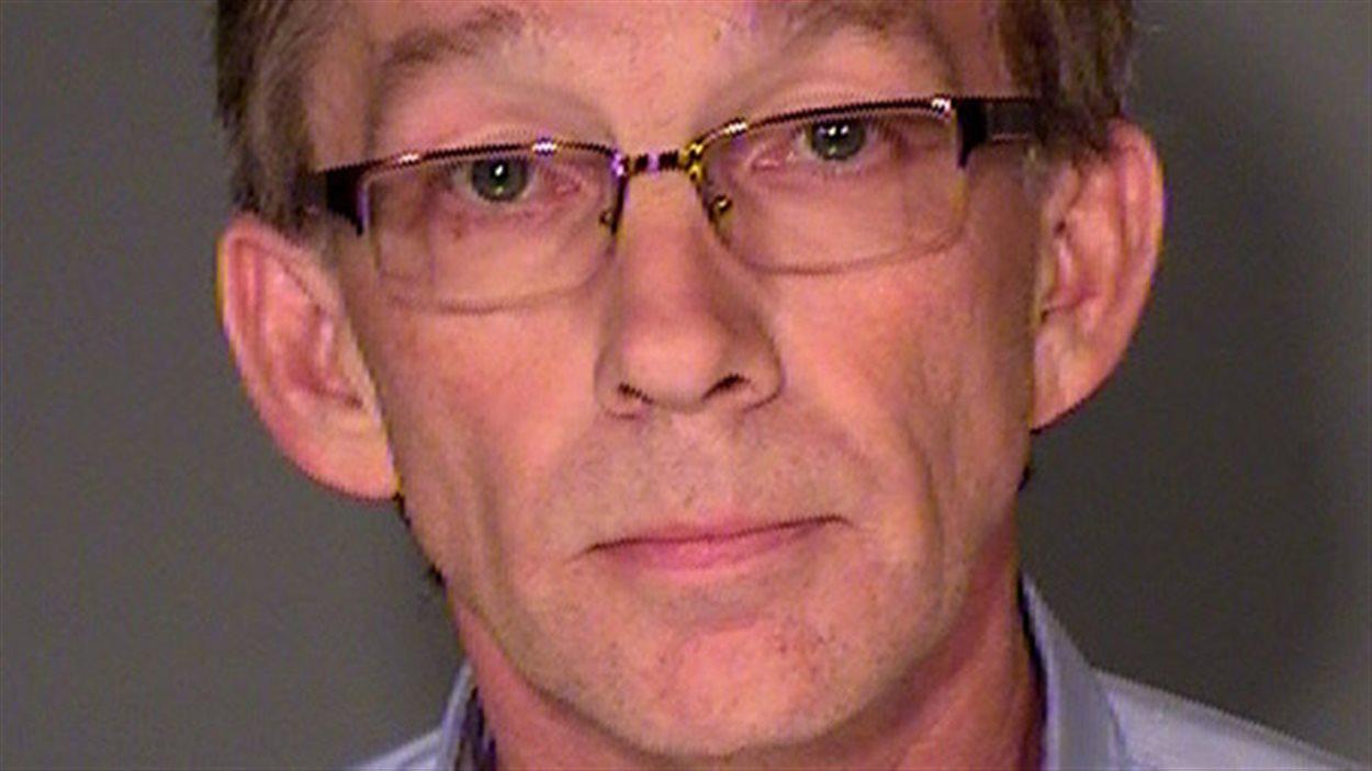 Le député provincial albertain Mike Allen apparait ici dans une photo prise par le bureau du shérif de St. Paul, au Minnesota, en juillet 2013.