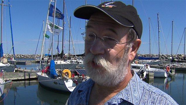 Le concurrent Philippe Maville