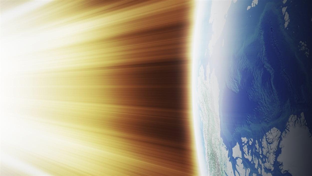 Chaleur sur Terre
