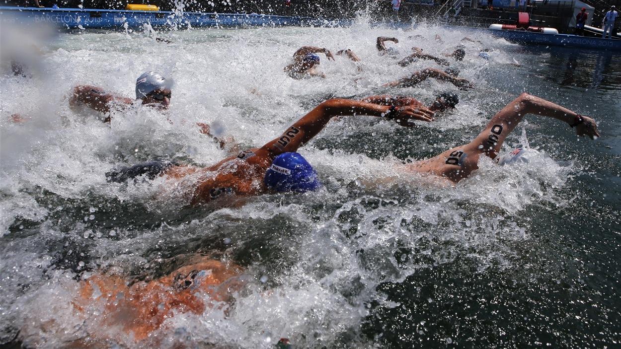 Compétition en eau libre