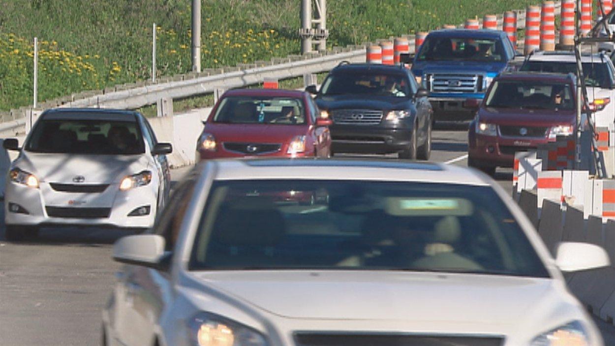 La circulation est à nouveau fluide sur l'autoroute Laurentienne.