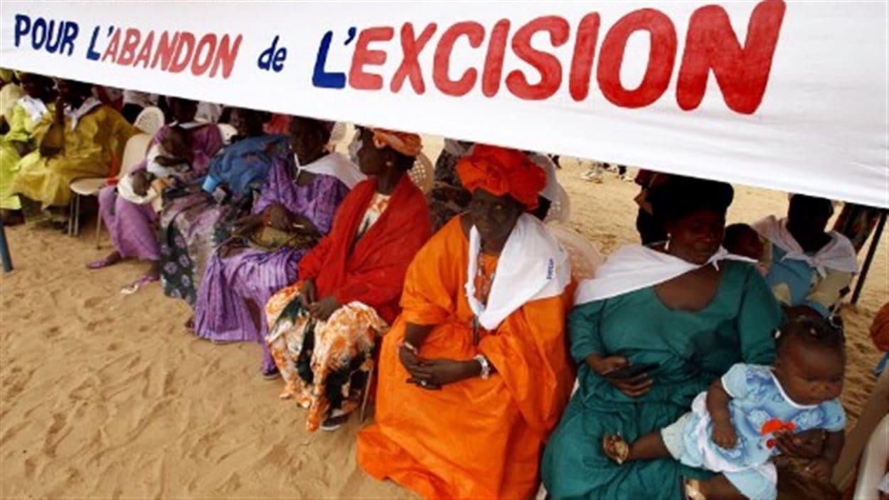 Une association de femmes luttant contre l'excision au Sénégal.