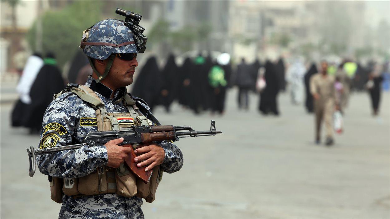 Un soldat iraquien