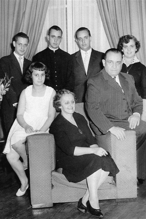 La famille du pape François