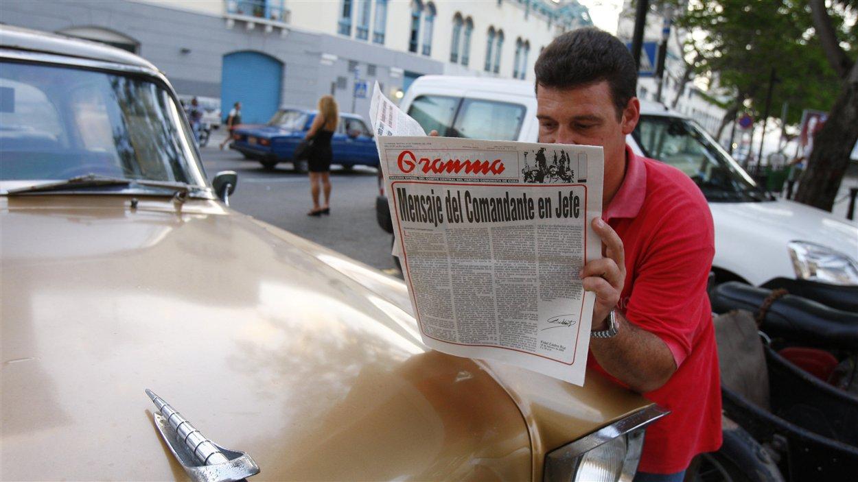 (19 février 2008) C'est par un article publié dans « Granma » que le président Fidel Castro annonce qu'il démissionne de son poste.