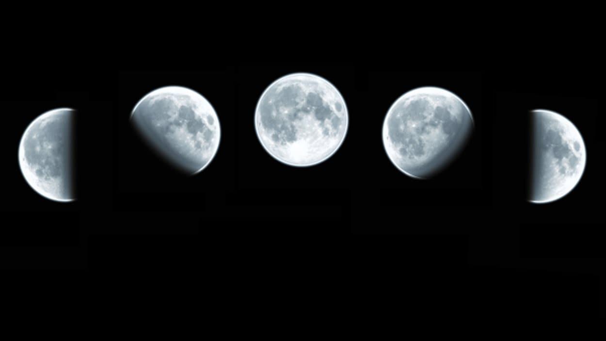 Le cycle lunaire