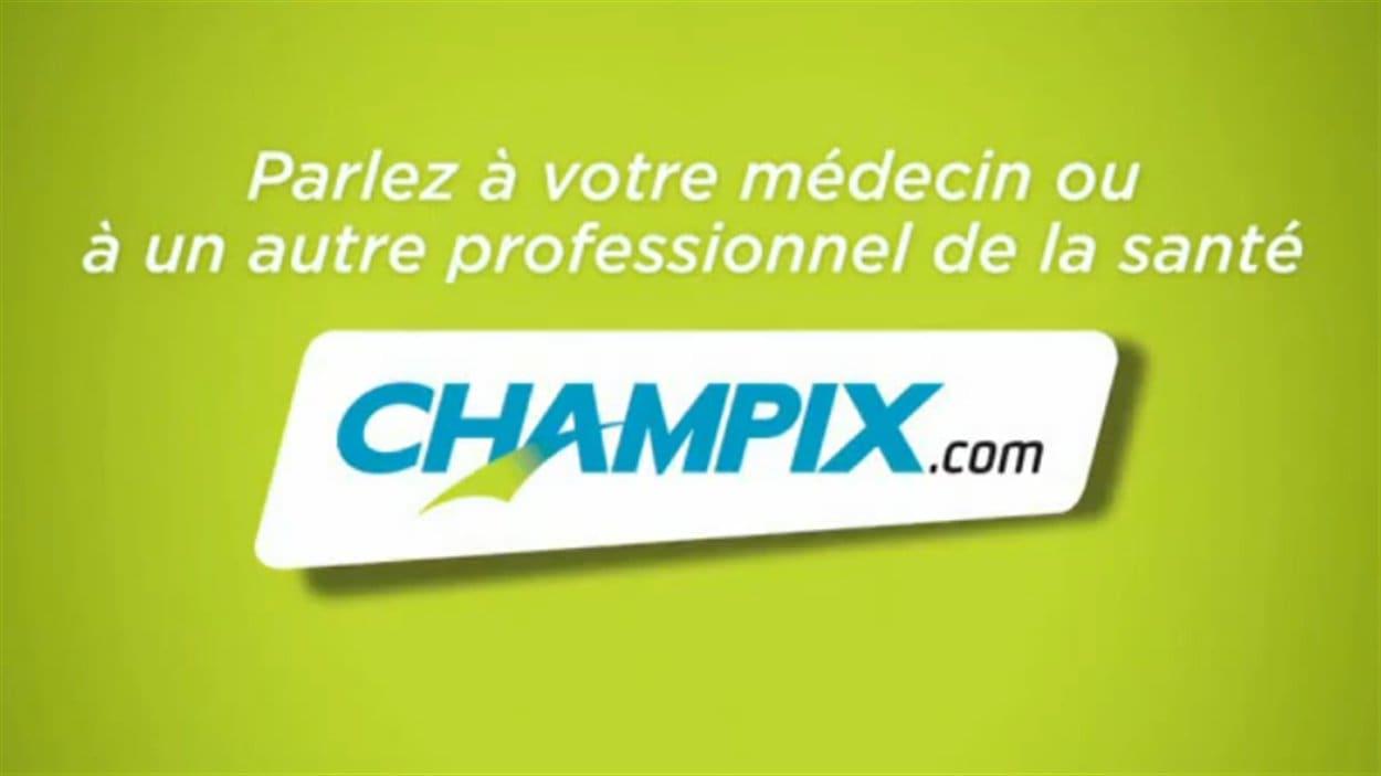 Le médicament Champix de Pfizer