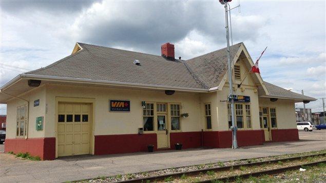 La gare de La Tuque