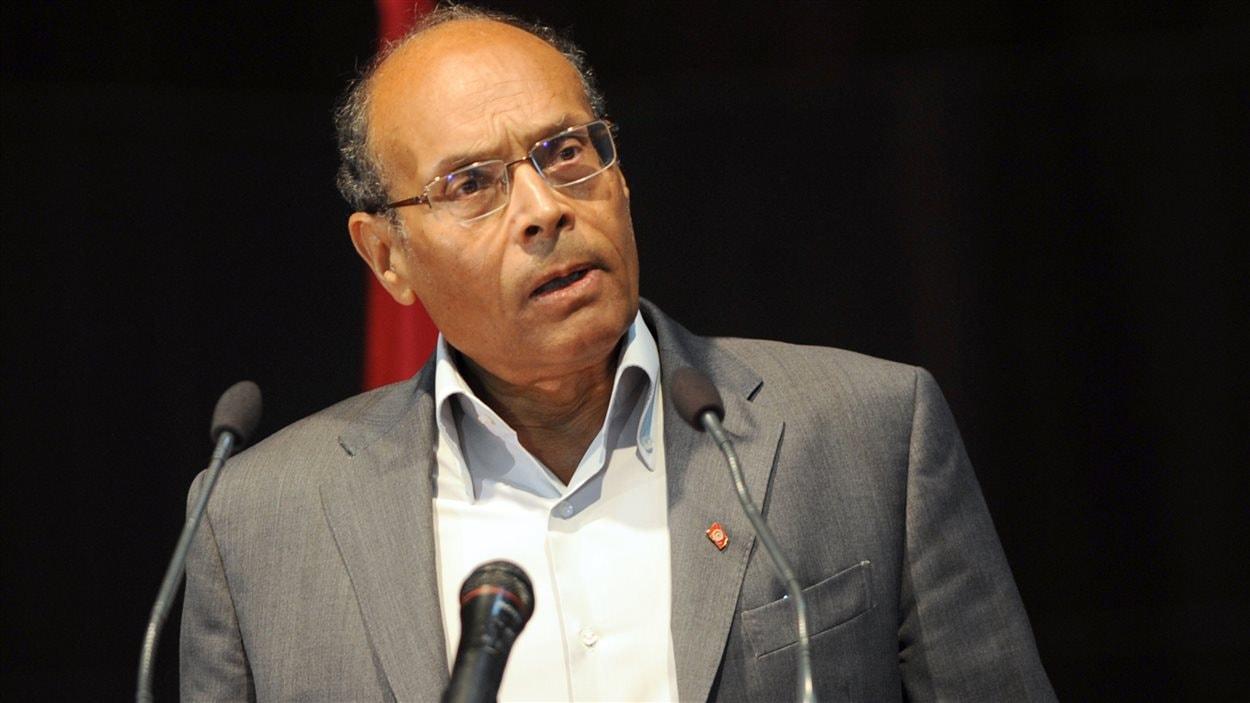 Le président tunisien Moncef Marzouki