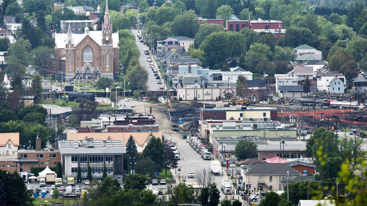 La municipalité de Lac-Mégantic
