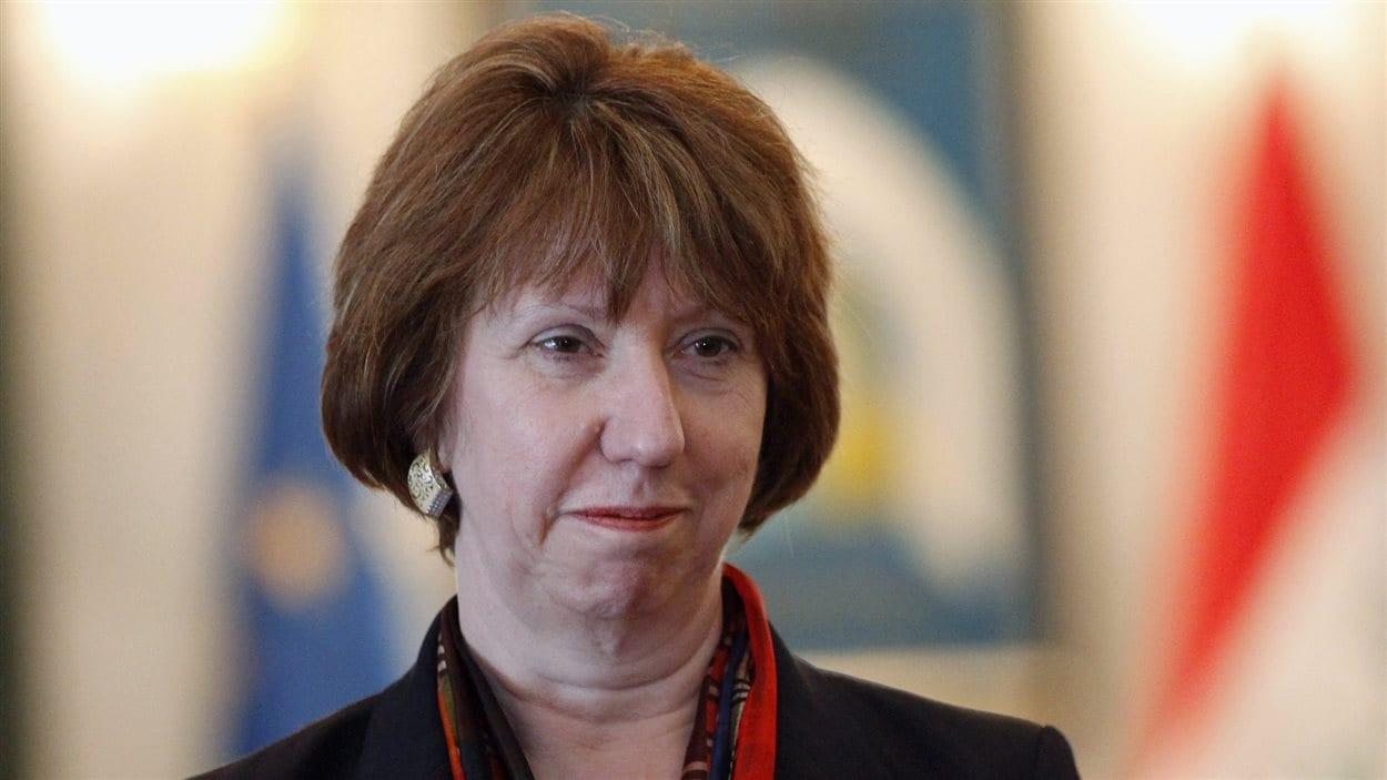 La porte-parole de la diplomatie de l'UE, Catherine Ashton (archives)