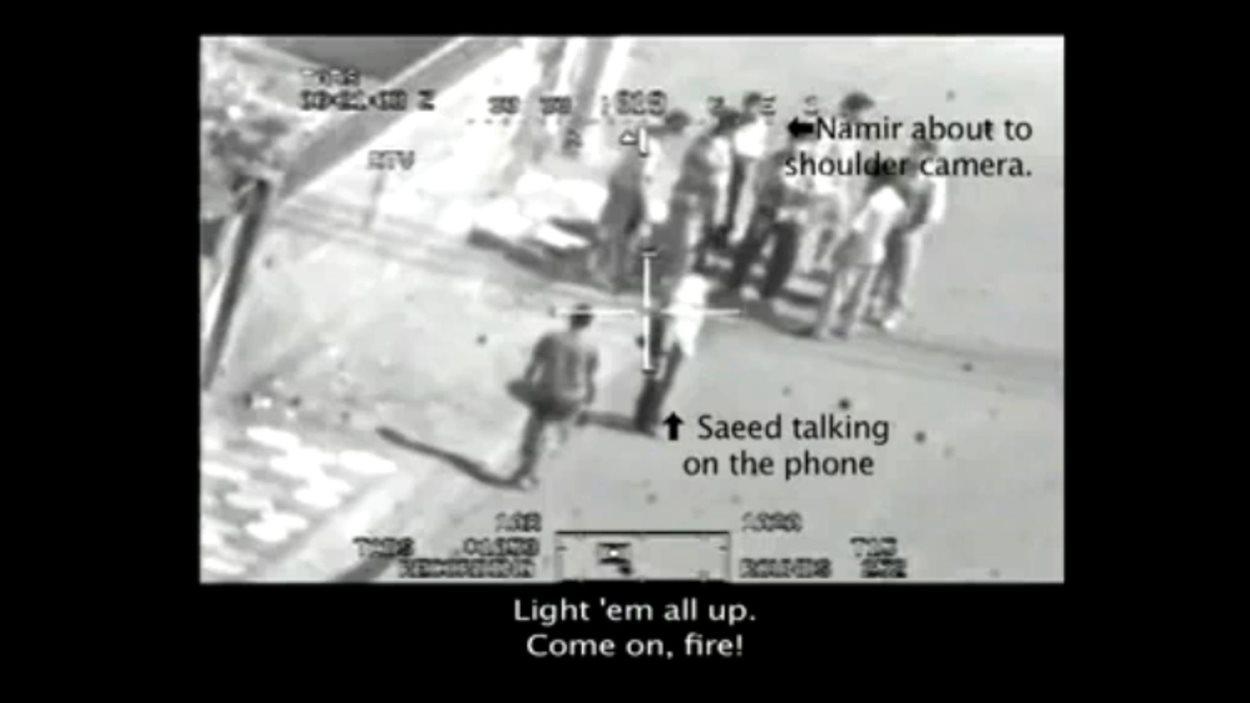 Extrait de la vidéo diffusée sur WikiLeaks.com