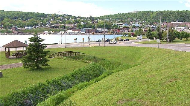 La ville de Gaspé