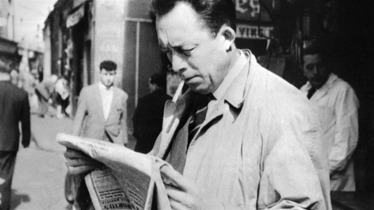 Photo d'Albert Camus prise en 1953