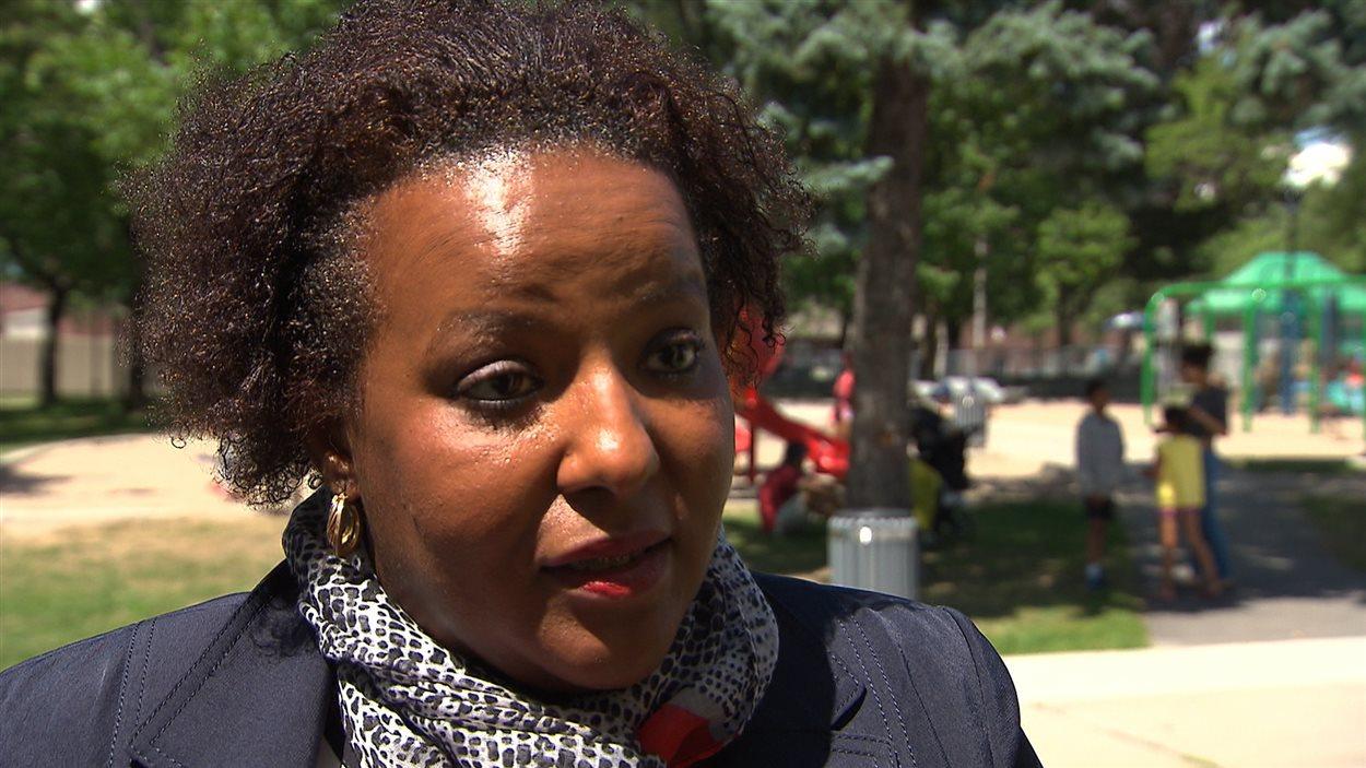 La conseillère en développement communautaire Rose-Andrée Hubbard