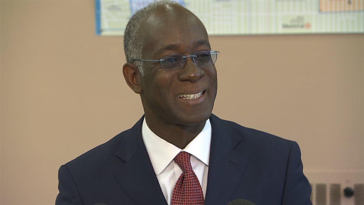 Emmanuel Dubourg représentait la circonscription provinciale de Viau depuis mars 2007.