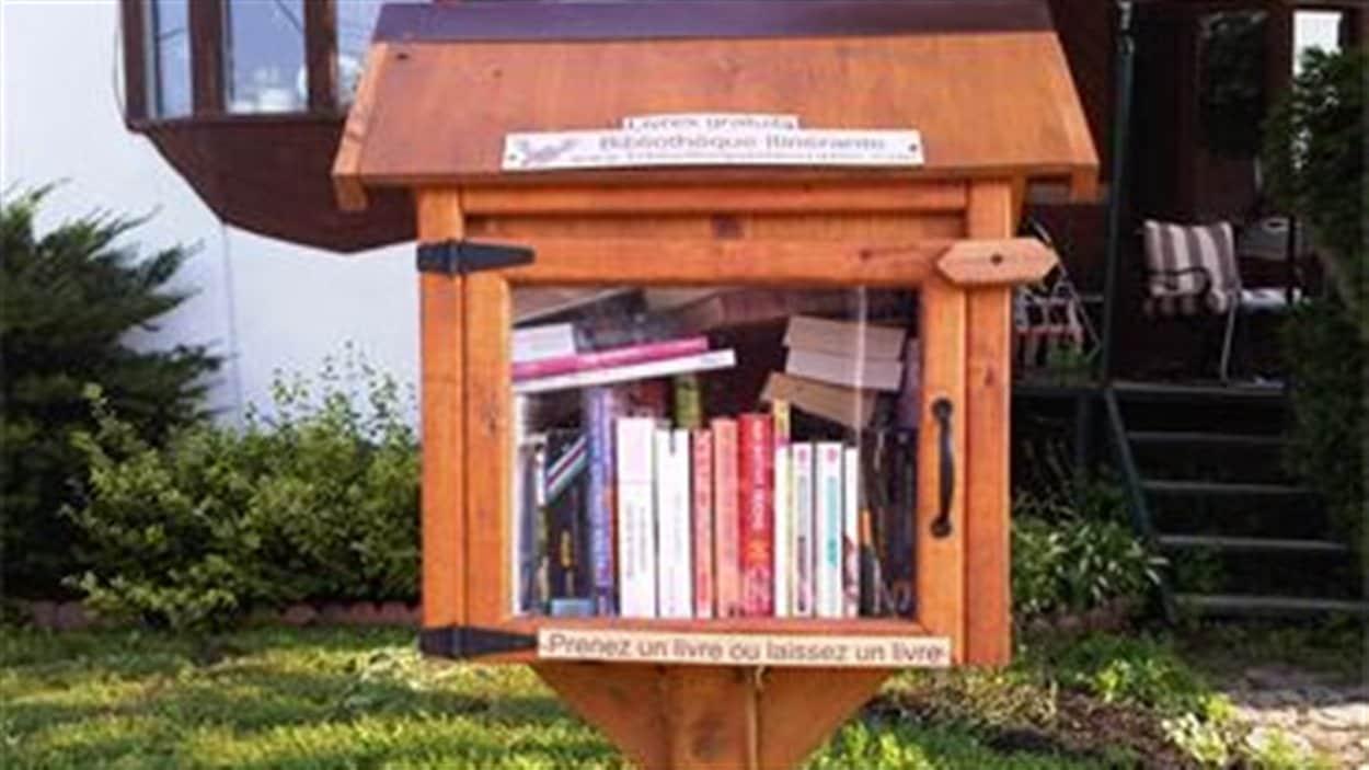 Sept boîtes à livres du genre ont été installées dans la ville depuis mars dernier.