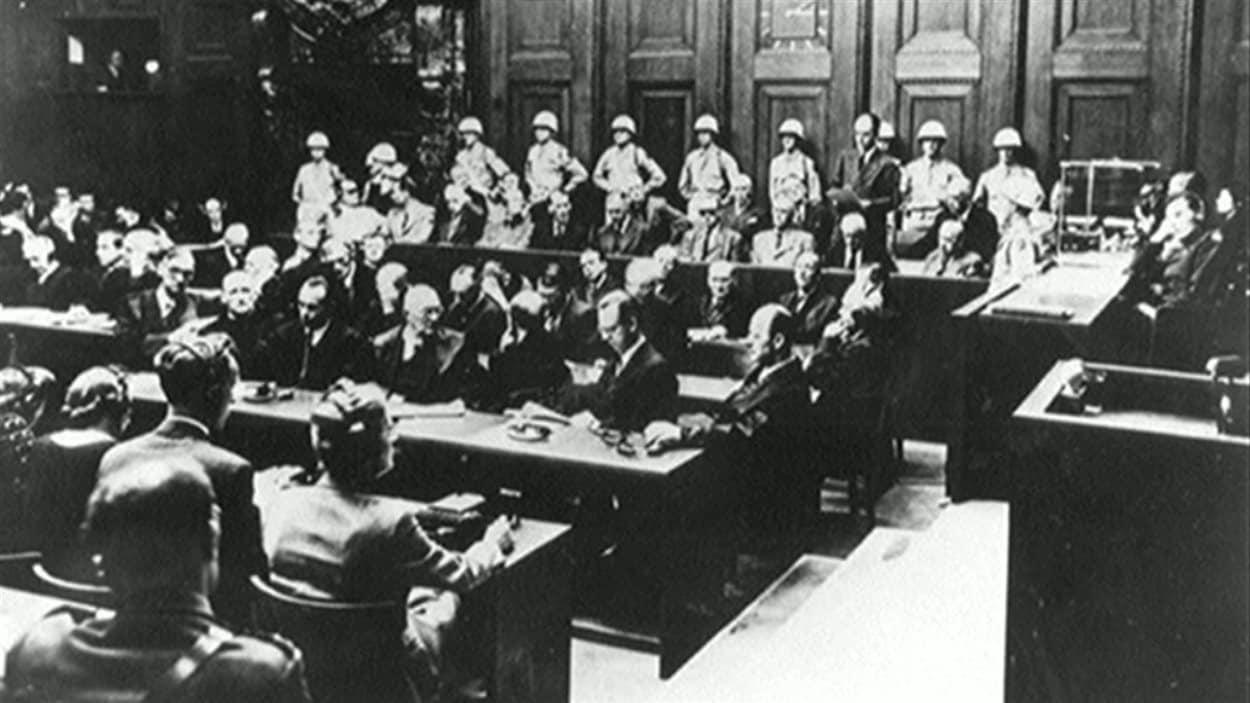 Procès de criminels nazis (archives)