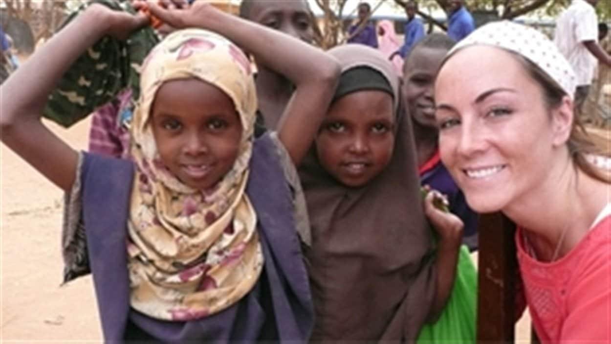 Amanda Lindhout est retournée en Afrique en 2011 pour visiter un camp de réfugiés au Kenya.