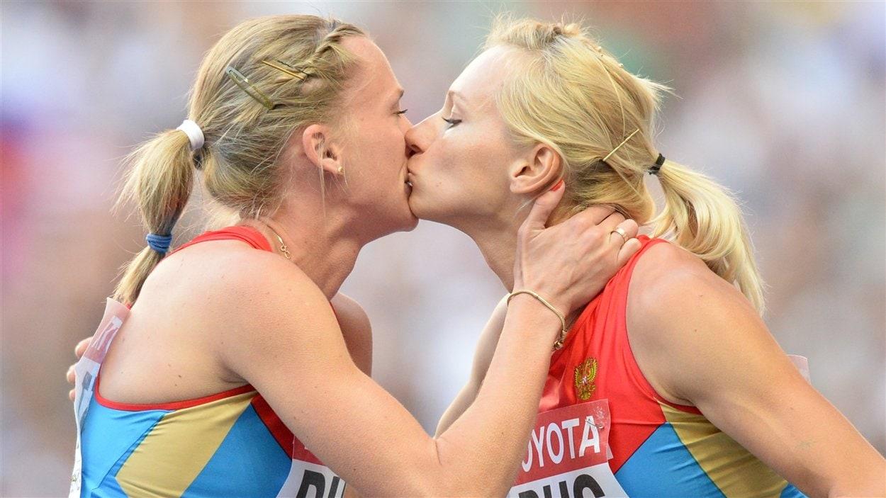 Kseniya Ryzhova et Yulia Gushchina
