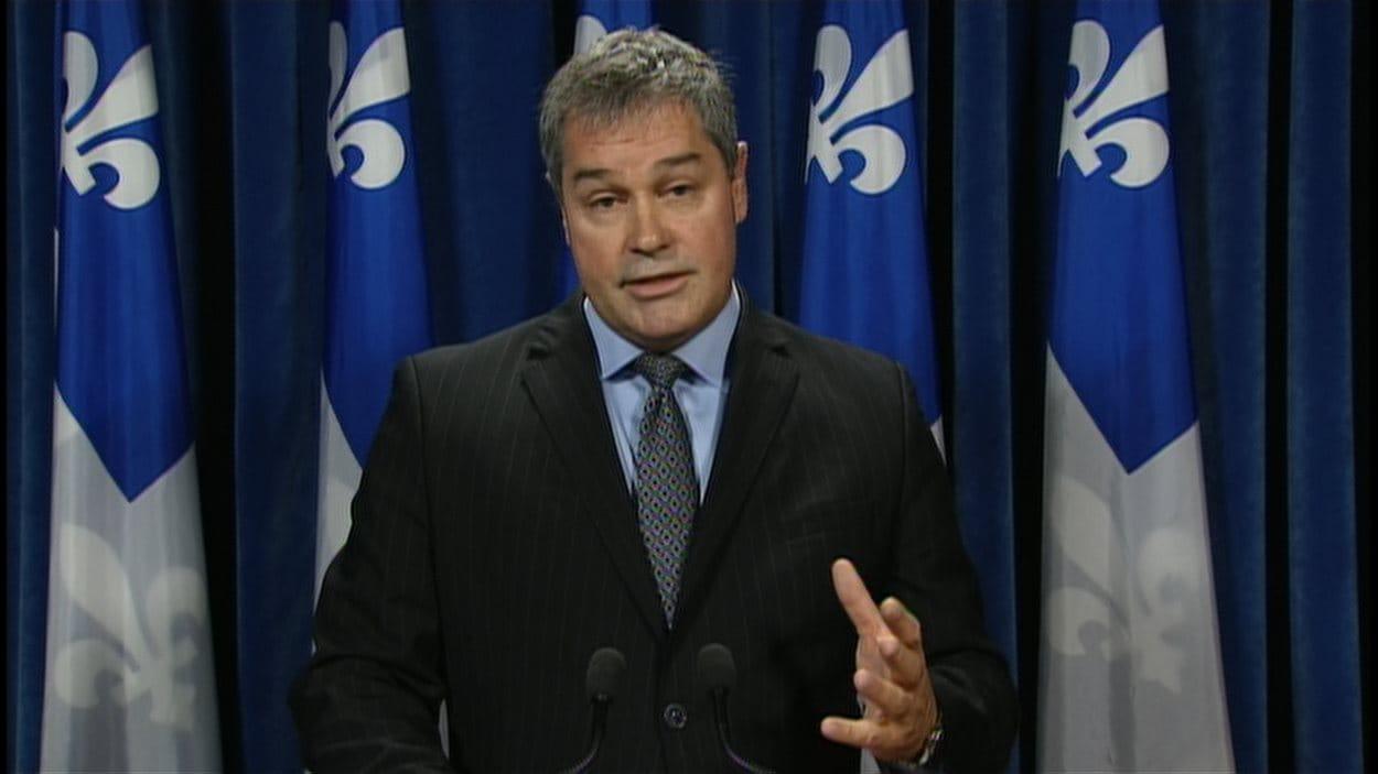 Yves Bolduc, porte-parole de l'opposition officielle en matière de santé