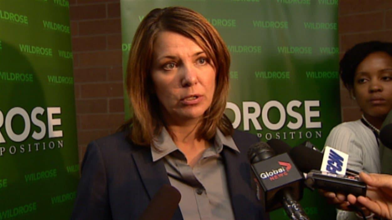 Danielle Smith, chef du Parti Wildrose
