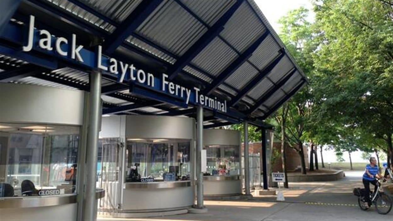 L'embarcadère des traversiers pour les îles de Toronto a été renommé en mémoire de Jack Layton.