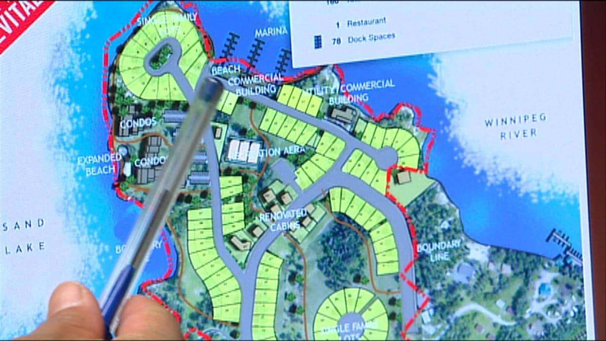 Le projet prévoit la transformation des chambres d'hôtel en condominiums et la construction de chalets.