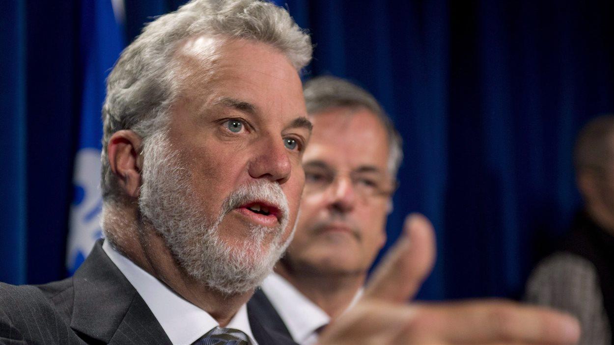 Philippe Couillard, chef du Parti libéral du Québec (PLQ)
