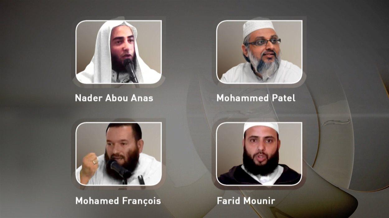 Les quatre imams controversés attendus à Montréal