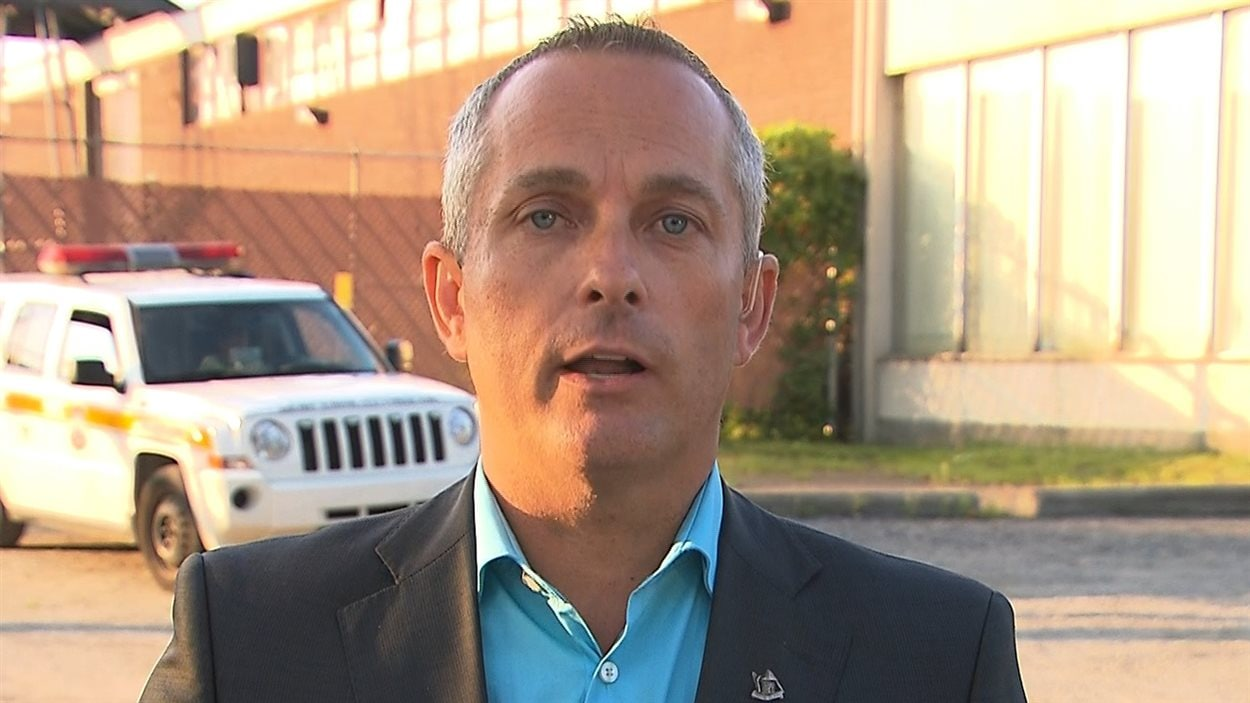 Le directeur général de la Ville de Pointe-Claire, Nicolas Bouchard
