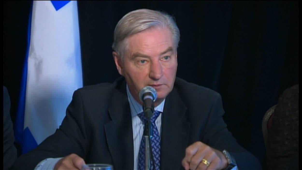 Serge Ménard, président de la Commission d'examen sur les événement du printemps 2012