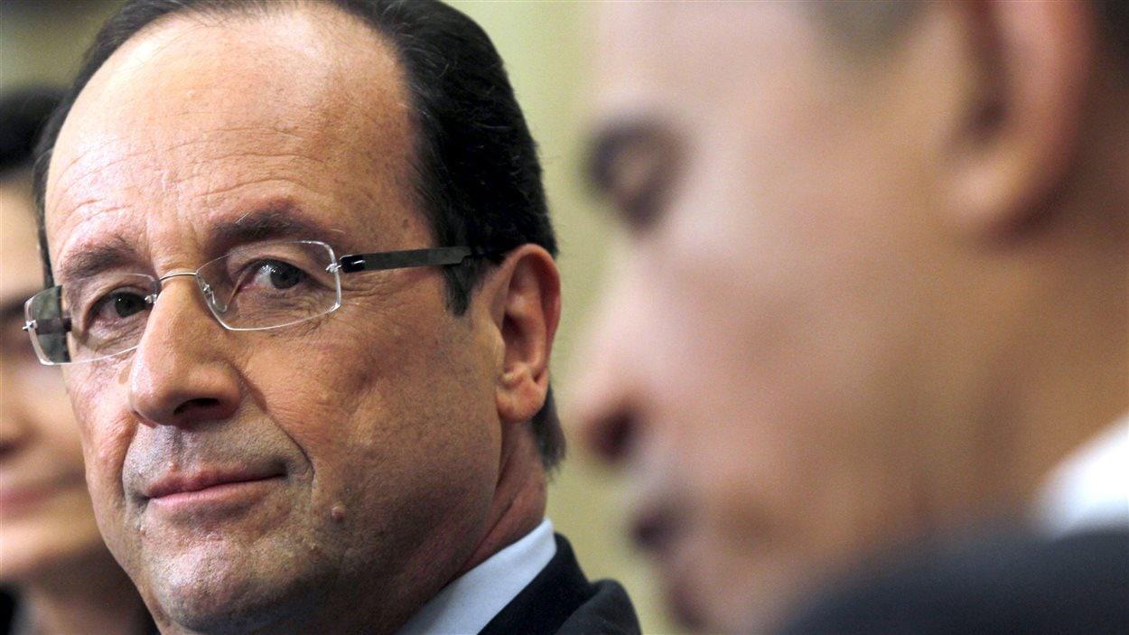 Le président français François Hollande et son homologue américain Barack Obama