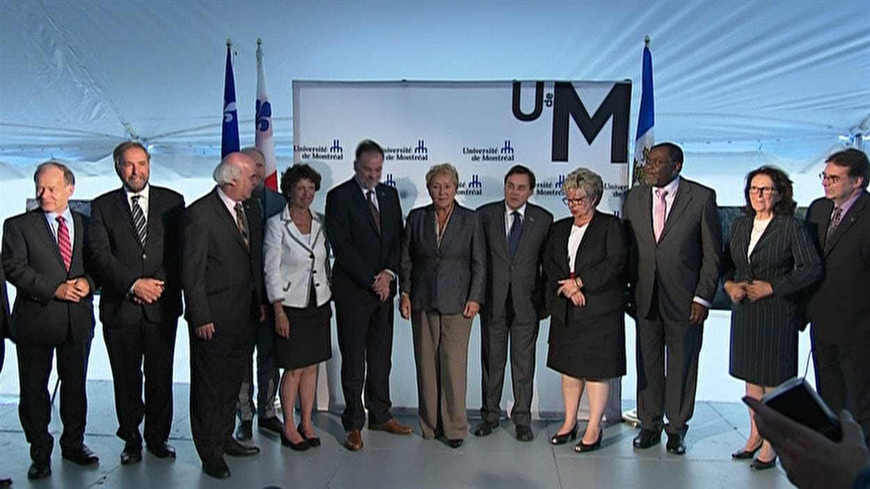 Annonce du gouvernement Marois au sujet du nouveau campus de l'Université de Montréal