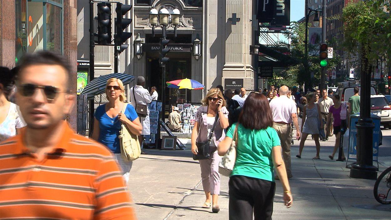 Des citoyens de Montréal