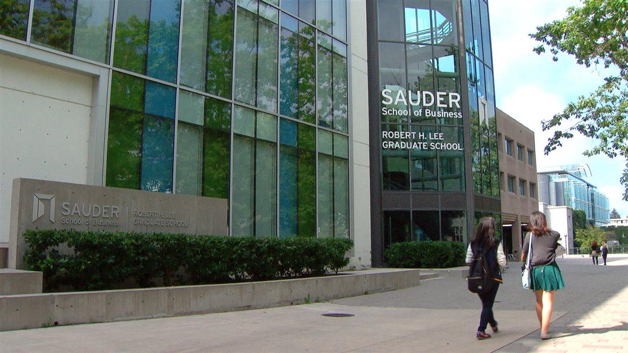 La Sauder School of Business, de l'Université de la Colombie-Britannique