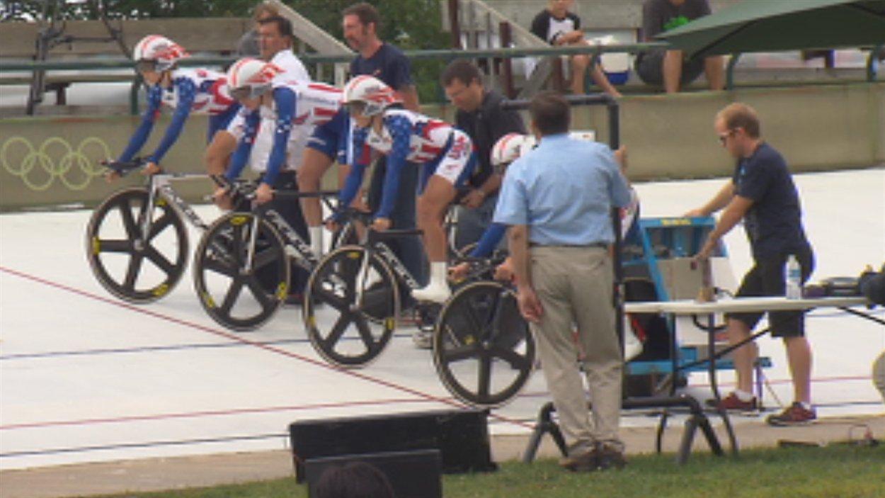 Le Challenge international sur piste se déroule à Bromont